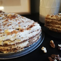 Морковена торта с Маскарпоне